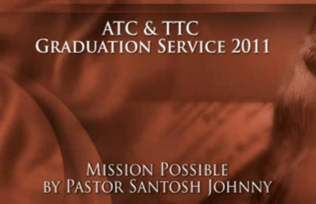 Mission Possible Memorial Stones – ATC Graduation-2011-Hindi