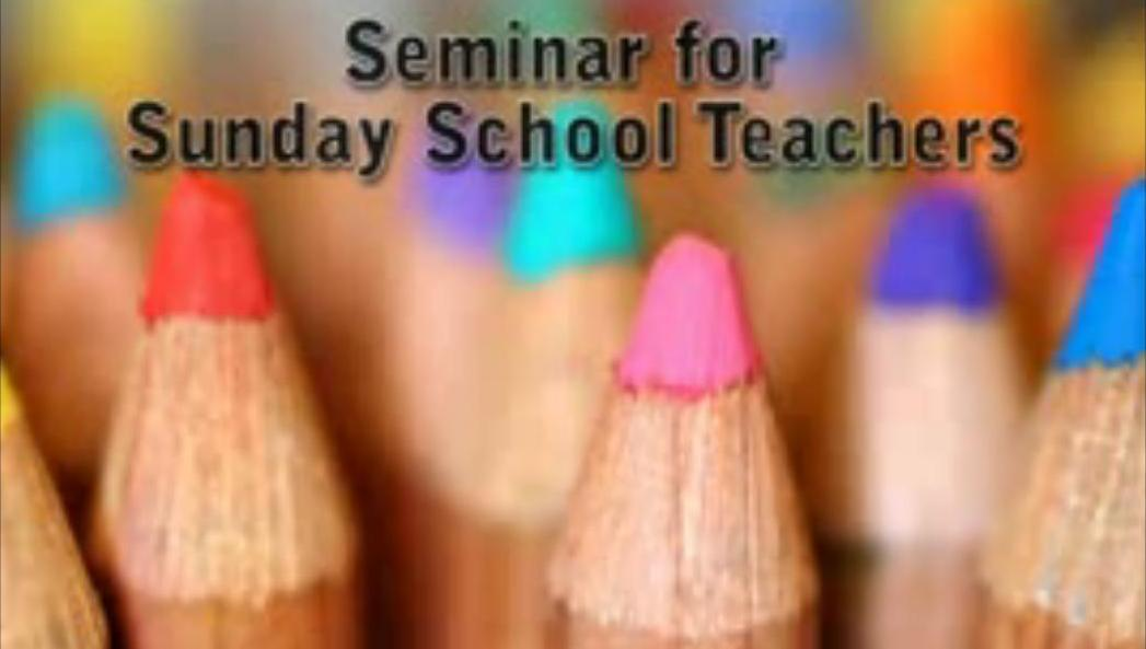 Hindi Sunday School Seminar (Session 1-10)